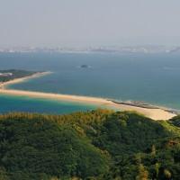 志賀島から見る海の中道(2009)の画像