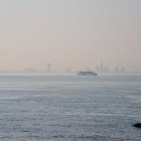 夜明けの博多湾(2009)の画像