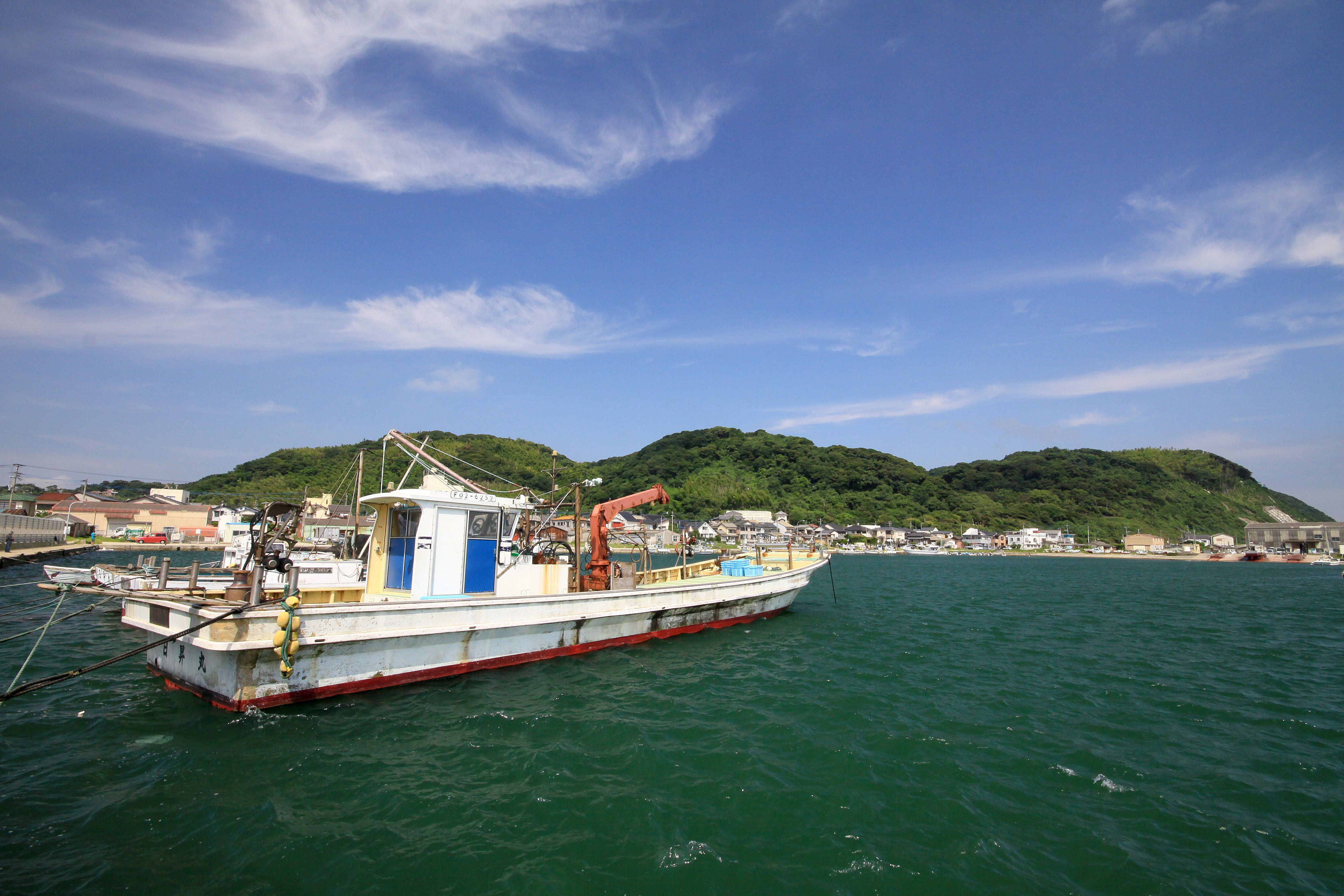 志賀島漁港(2009)の画像