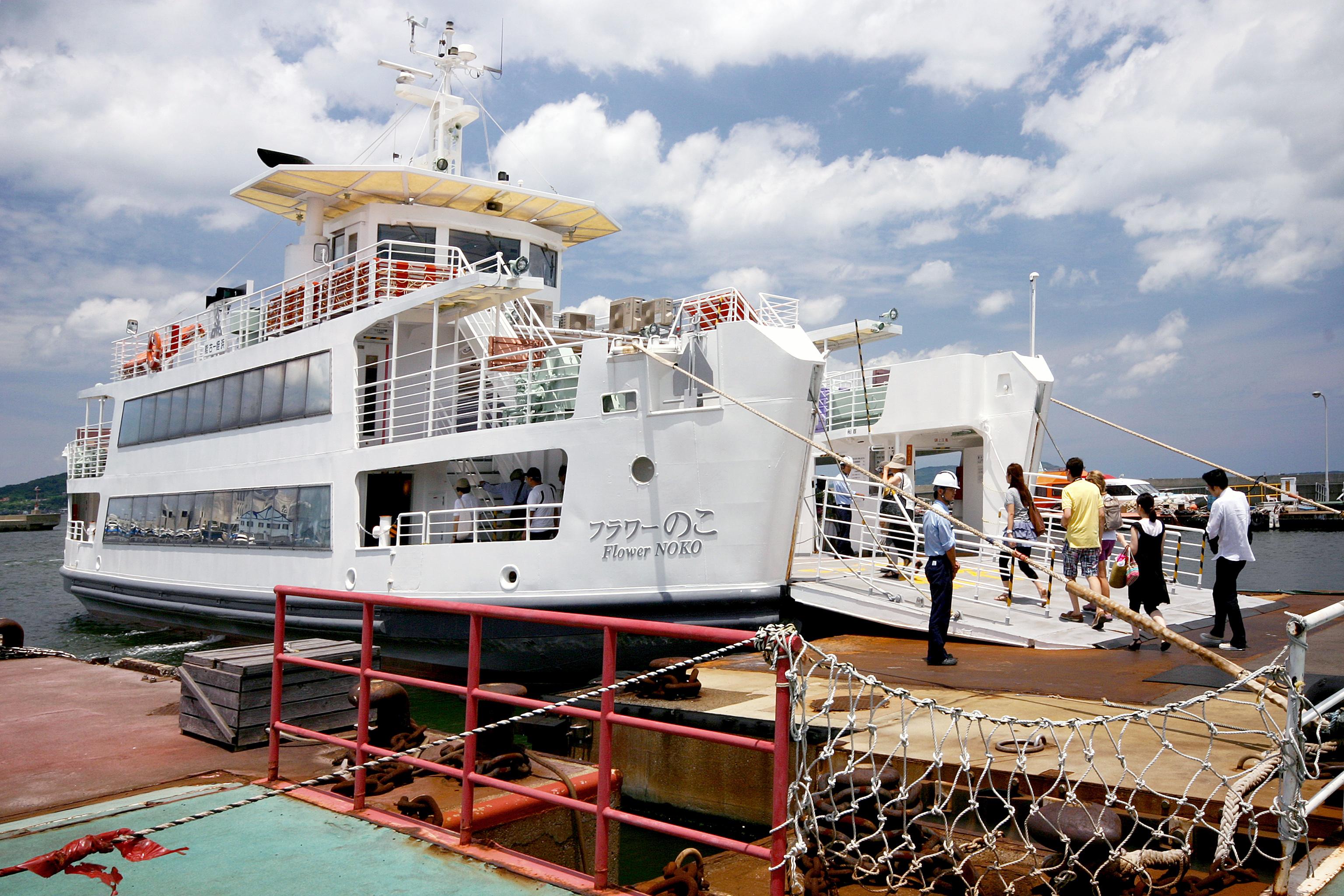 能古渡船場(姪浜)(2009)の画像