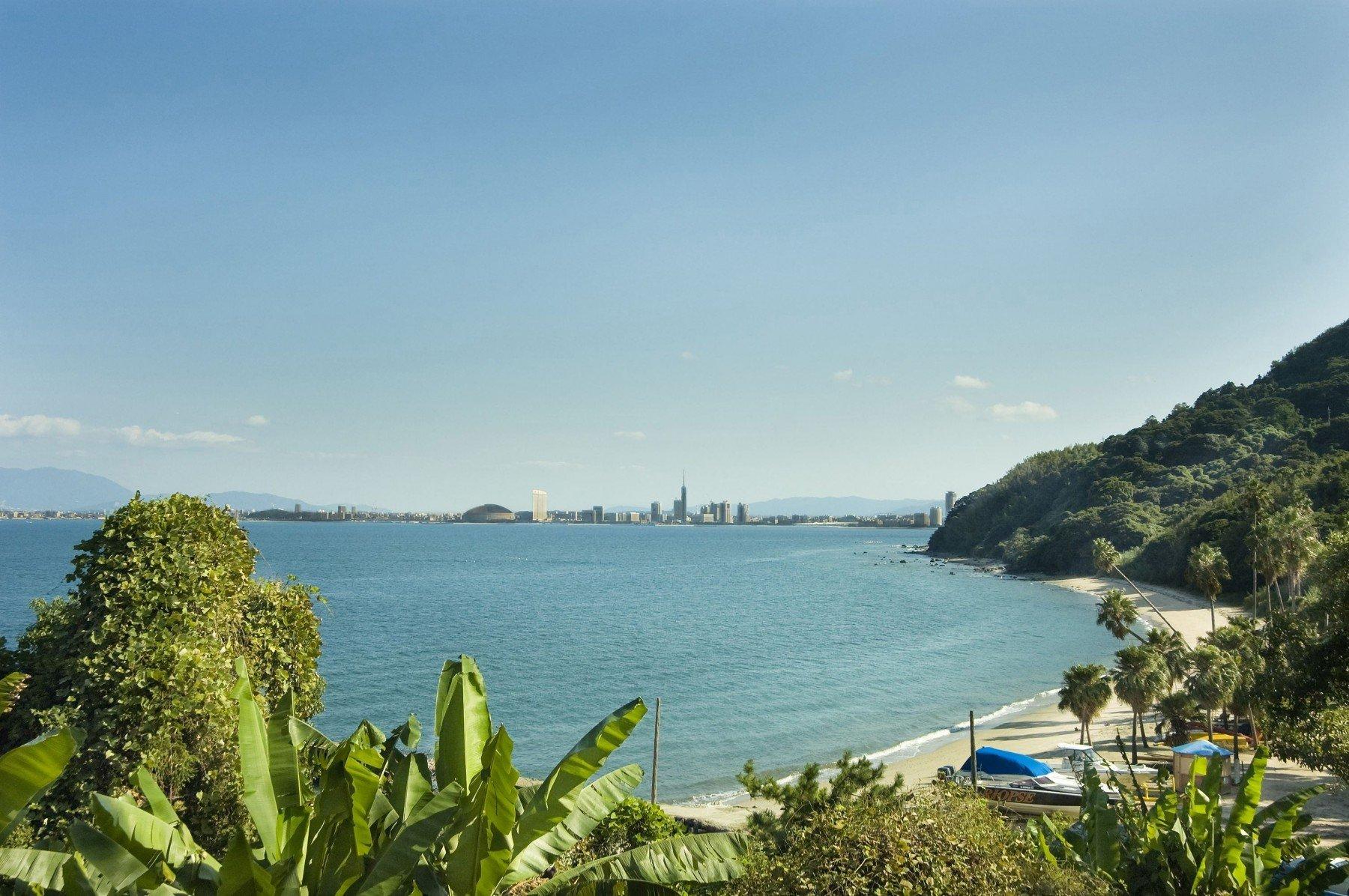 能古島海水浴場(撮影年不明)の画像