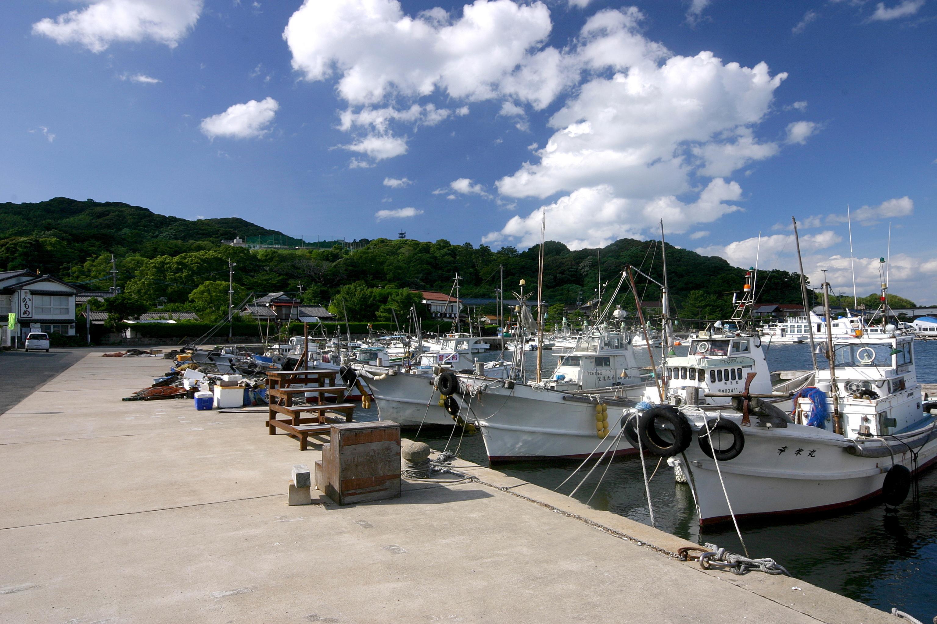 能古島漁港(2009)の画像