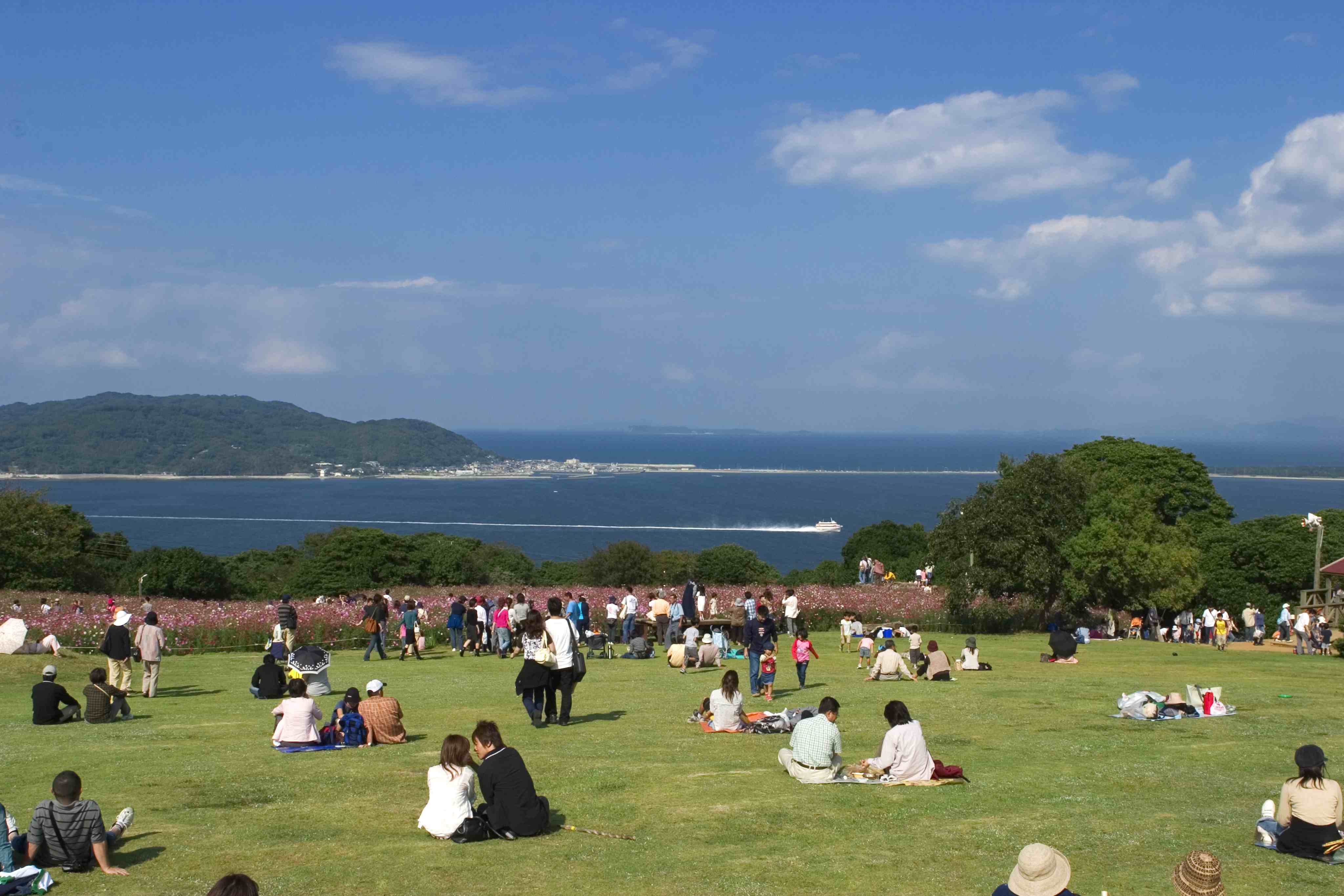 能古島・アイランドパーク 芝生の広場(2005)の画像