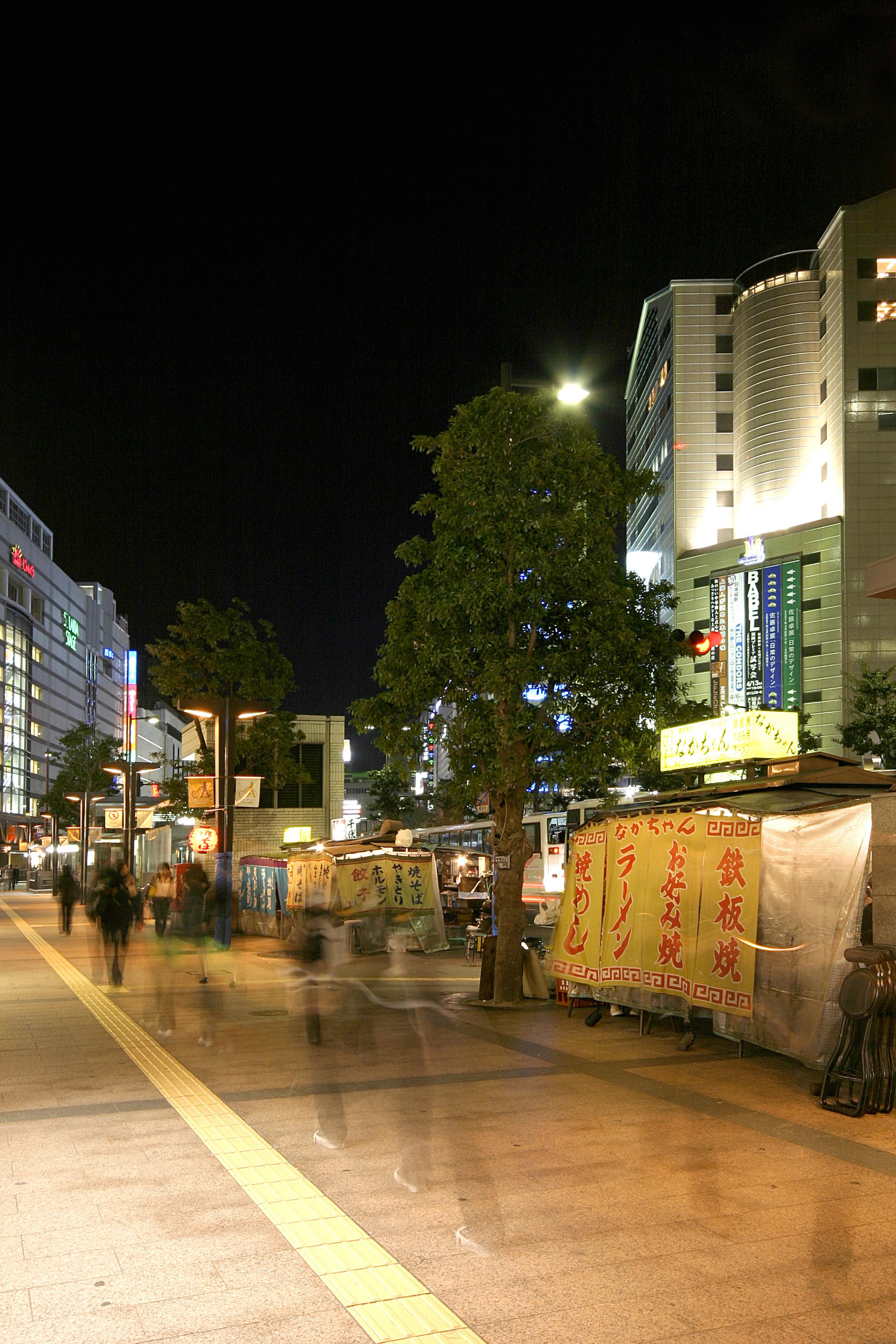 天神地区・渡辺通り(2007)の画像