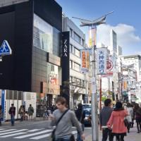 天神地区・西通り(2010)の画像