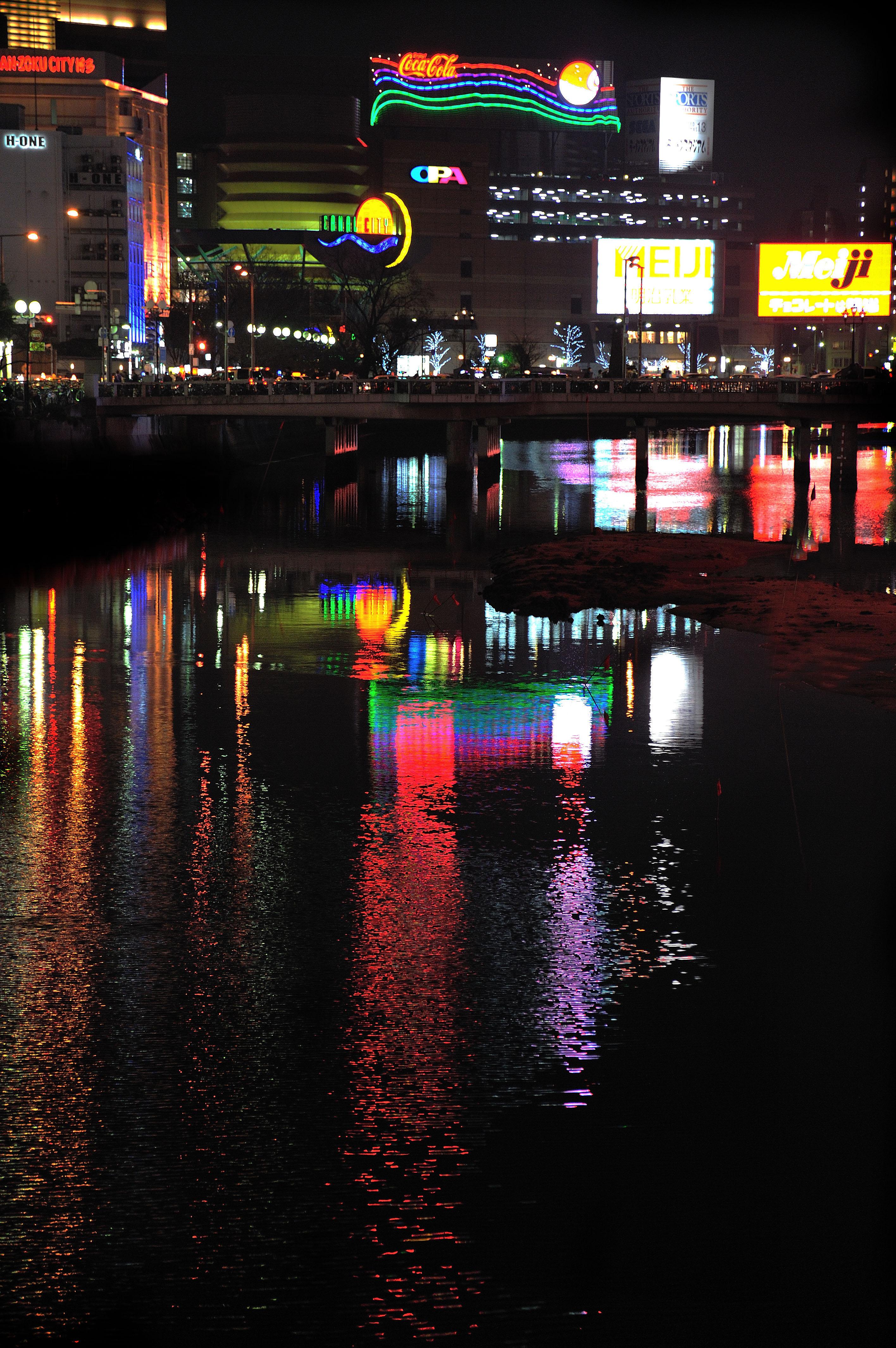 中洲夜景(2009)の画像