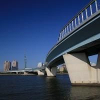 室見川と都市高速(2009)の画像
