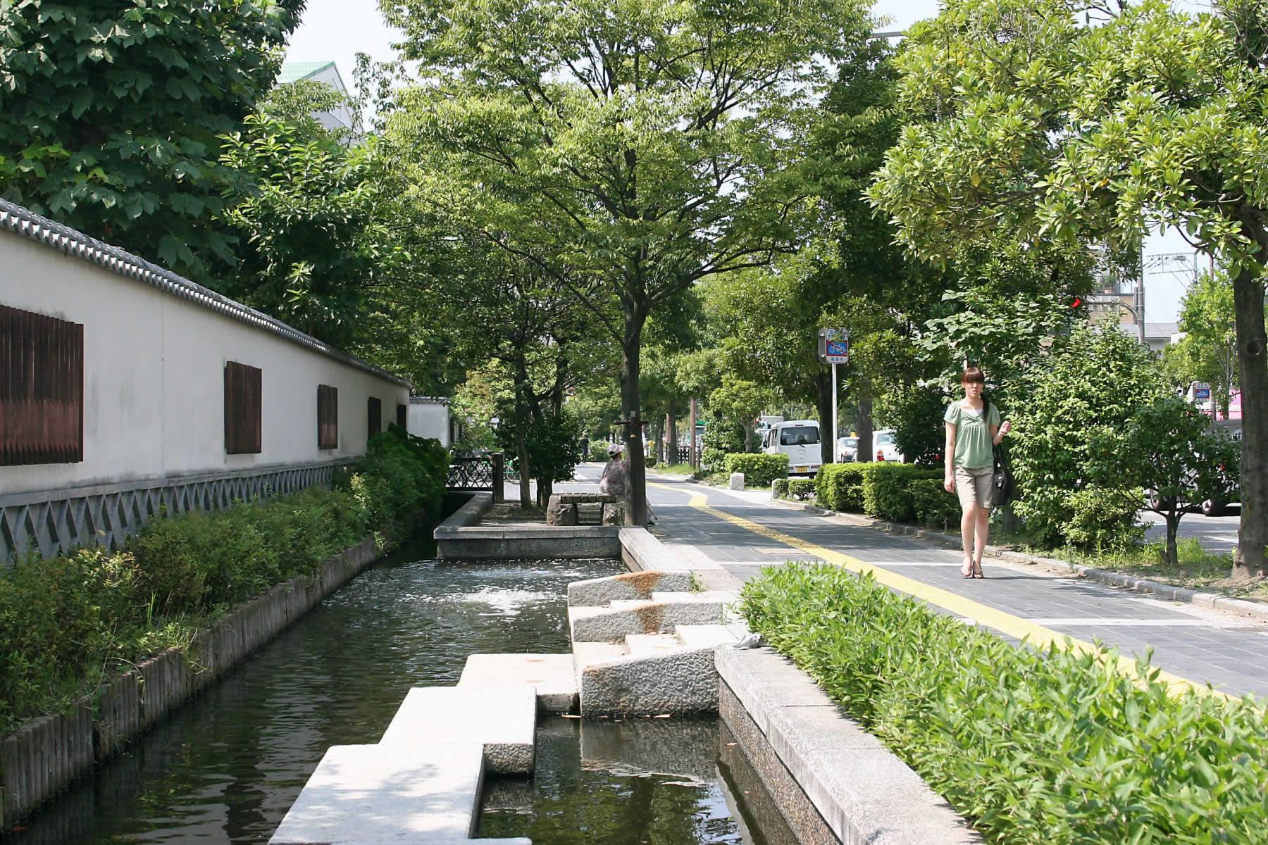 黒門川通り(2007)の画像