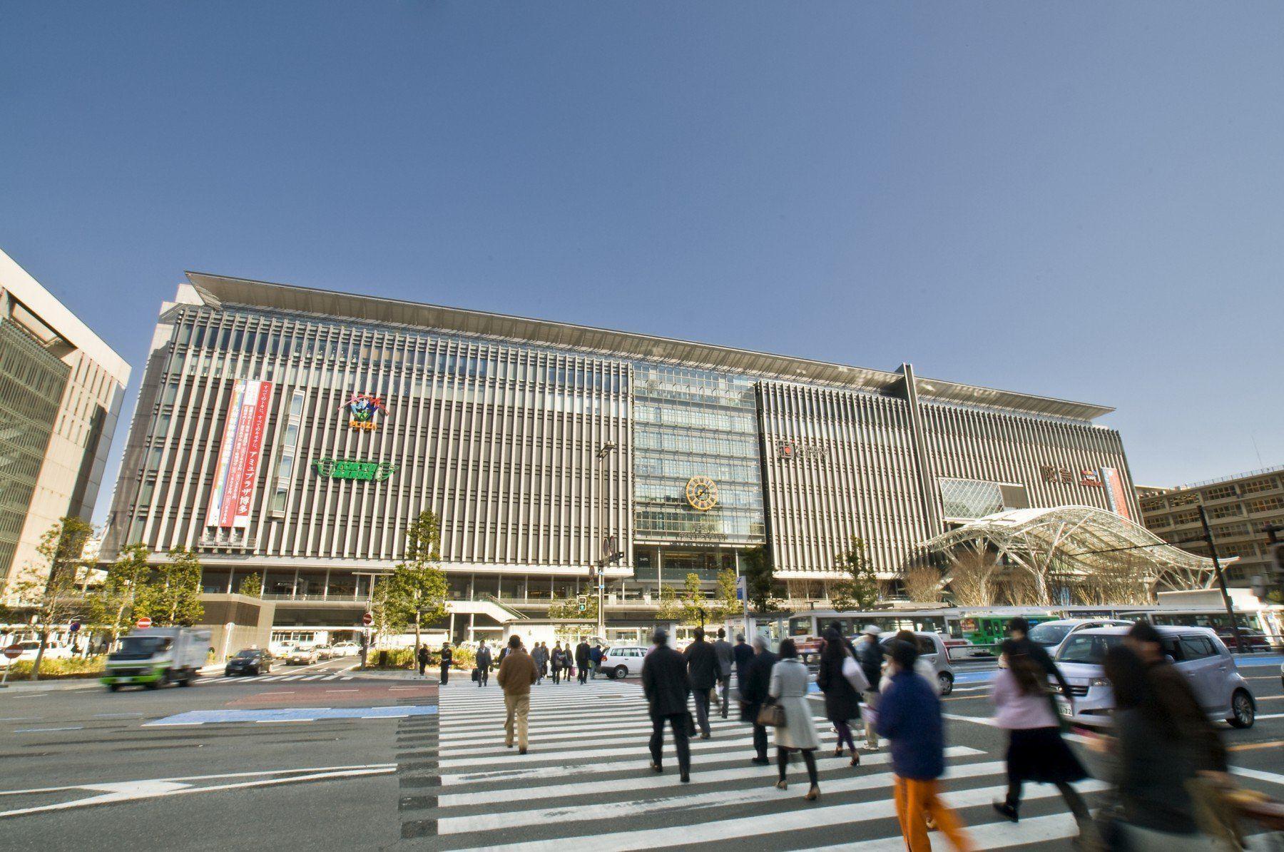 JR博多シティ付近(2010)の画像
