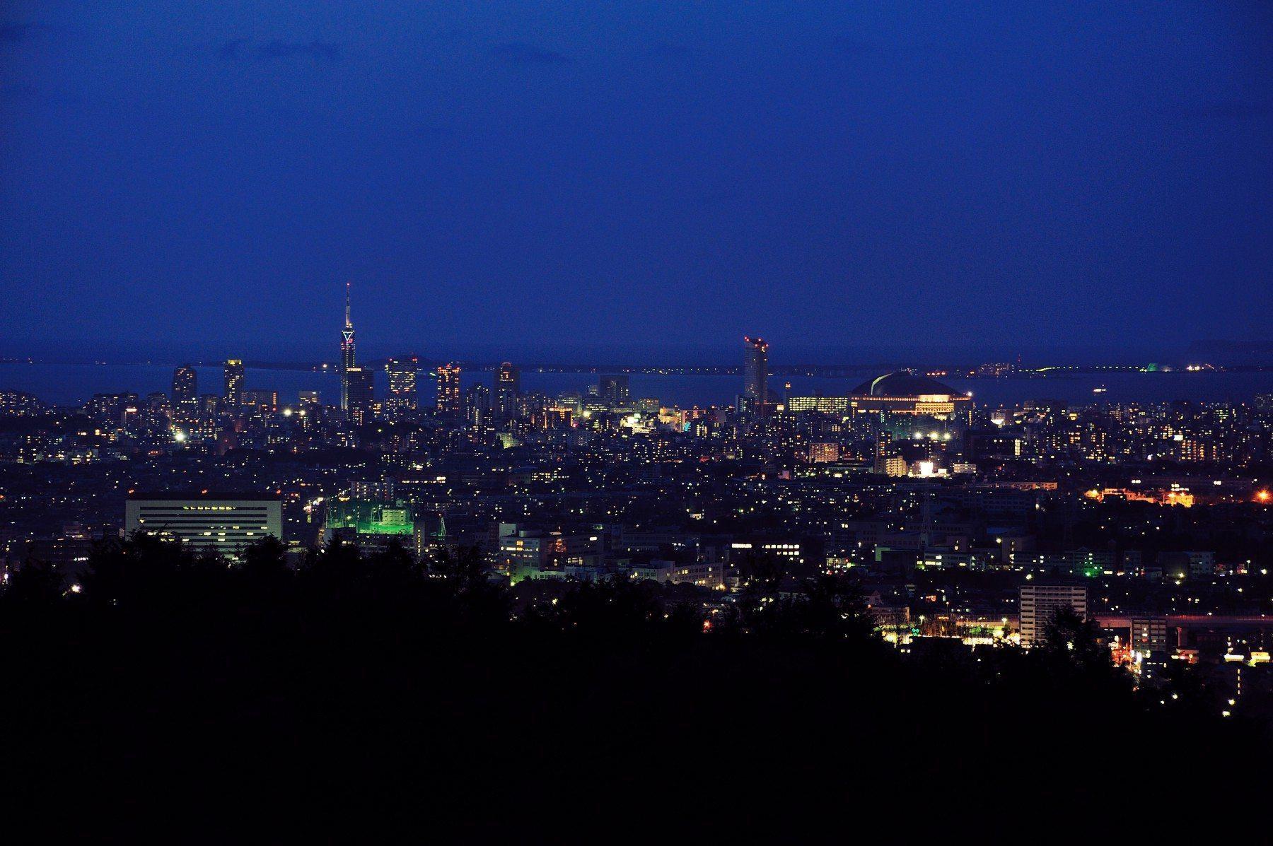 福冈市全景(2009)图片