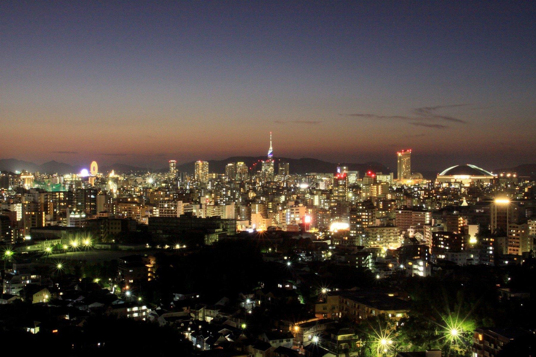 福岡市夜景(2009)の画像