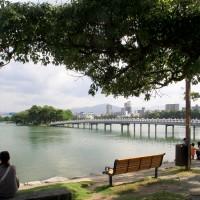 大濠公園は市民の憩いの場(2009)の画像