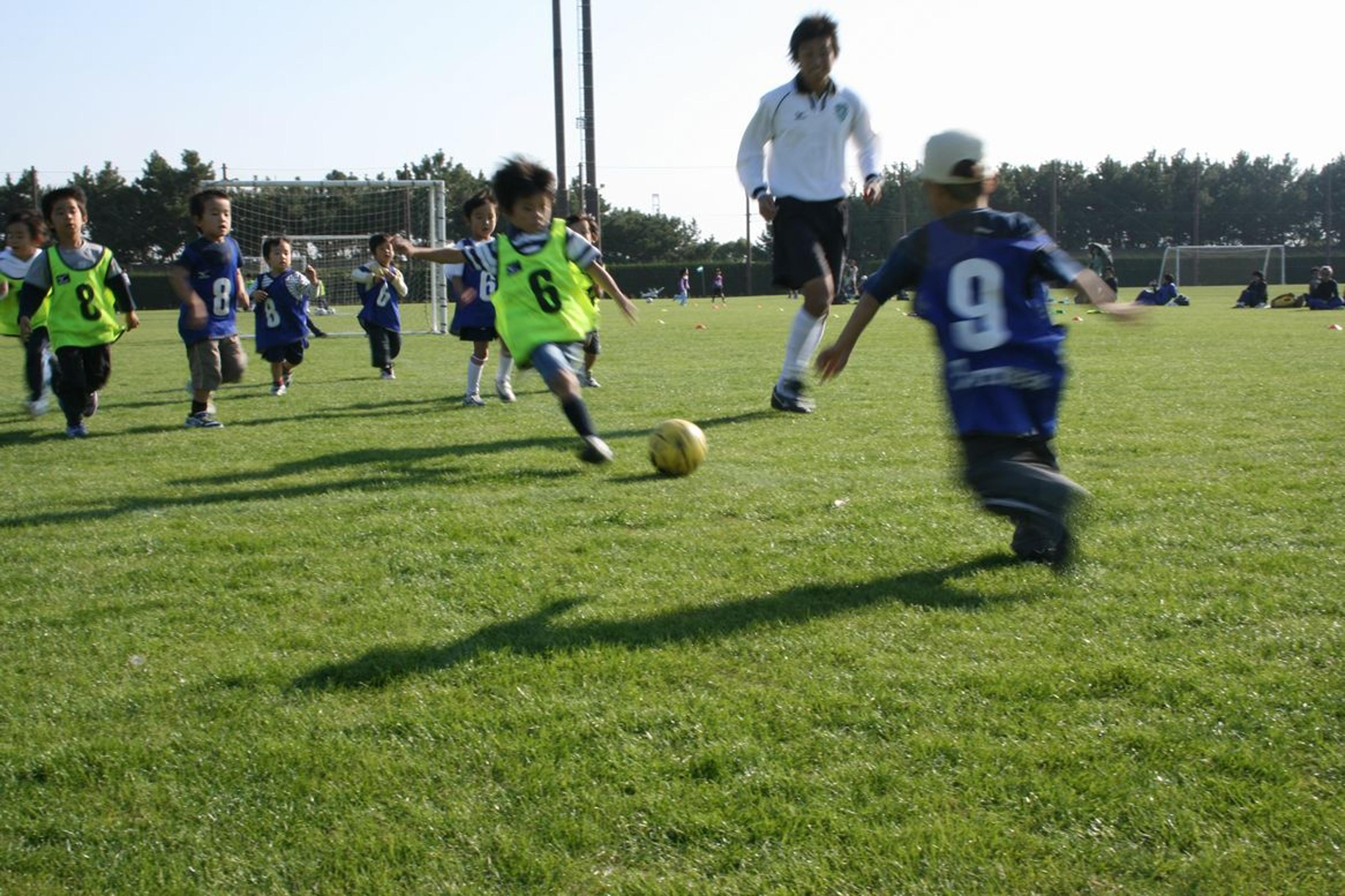 雁ノ巣・キッズサッカー教室(2007)の画像