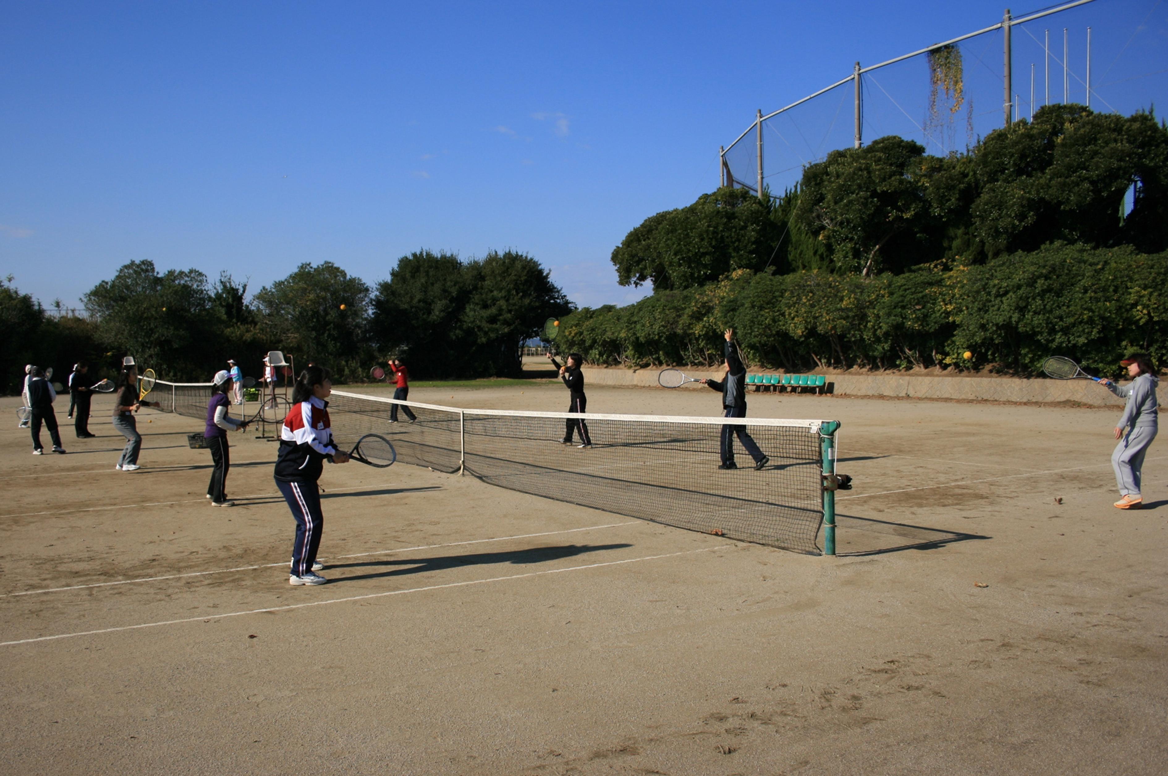 雁ノ巣・テニス教室(2008)の画像