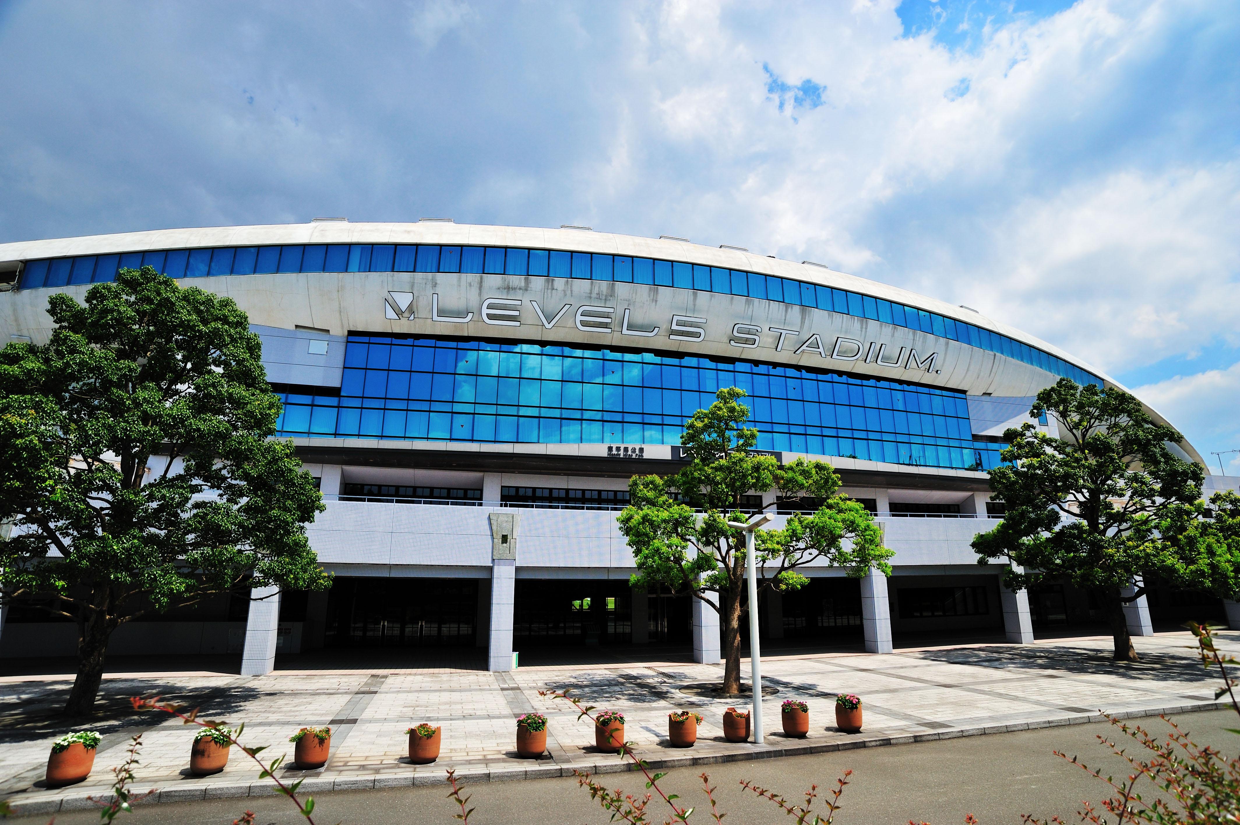 アビスパの本拠地・レベルファイブスタジアム(2009)の画像