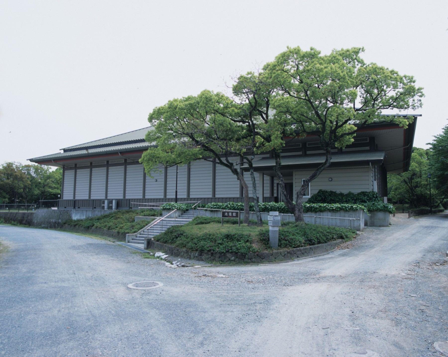 鴻臚館跡展示館(撮影年不明)の画像