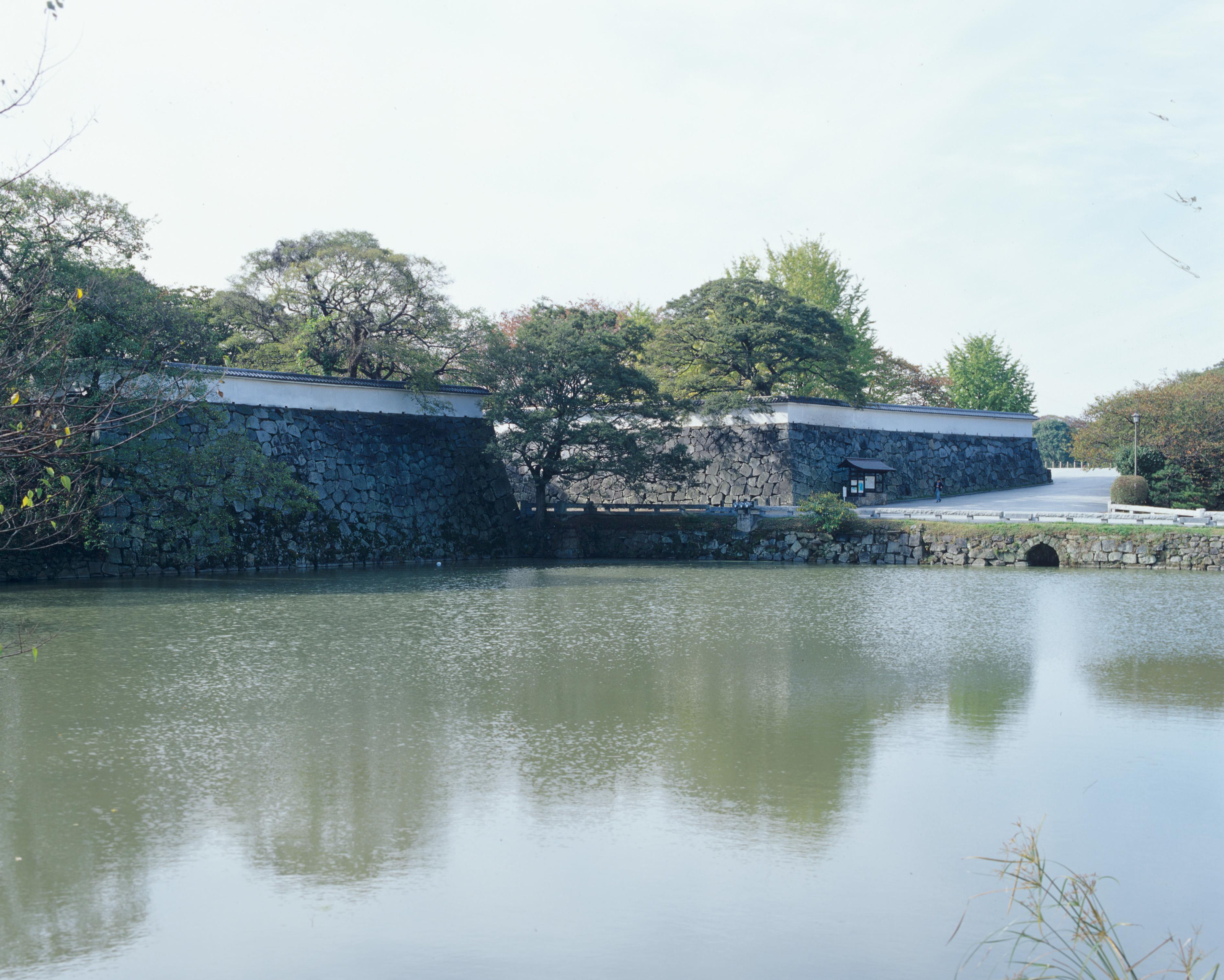 福岡城跡(撮影年不明)の画像