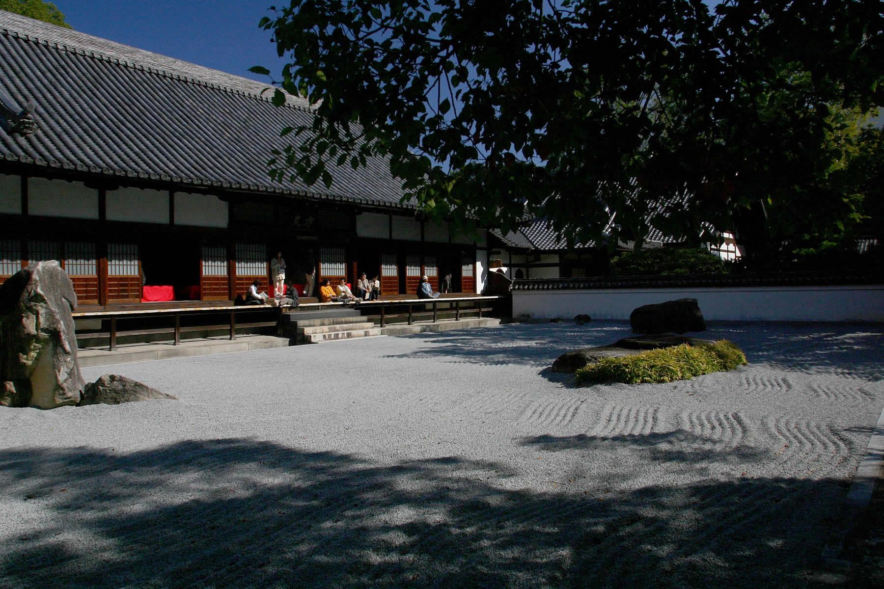 承天寺の石庭(2006)の画像