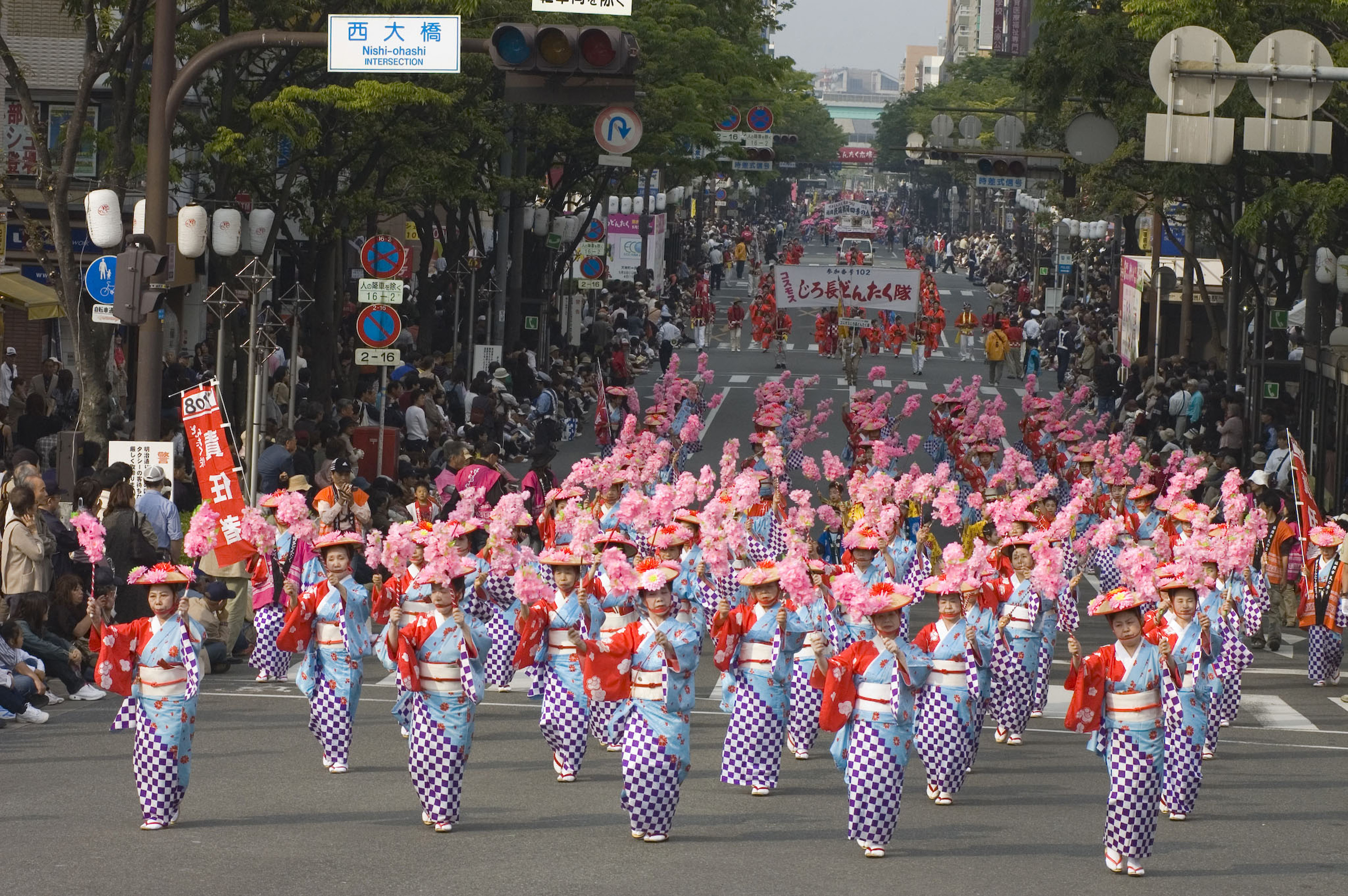 どんたくパレード(2007)の画像