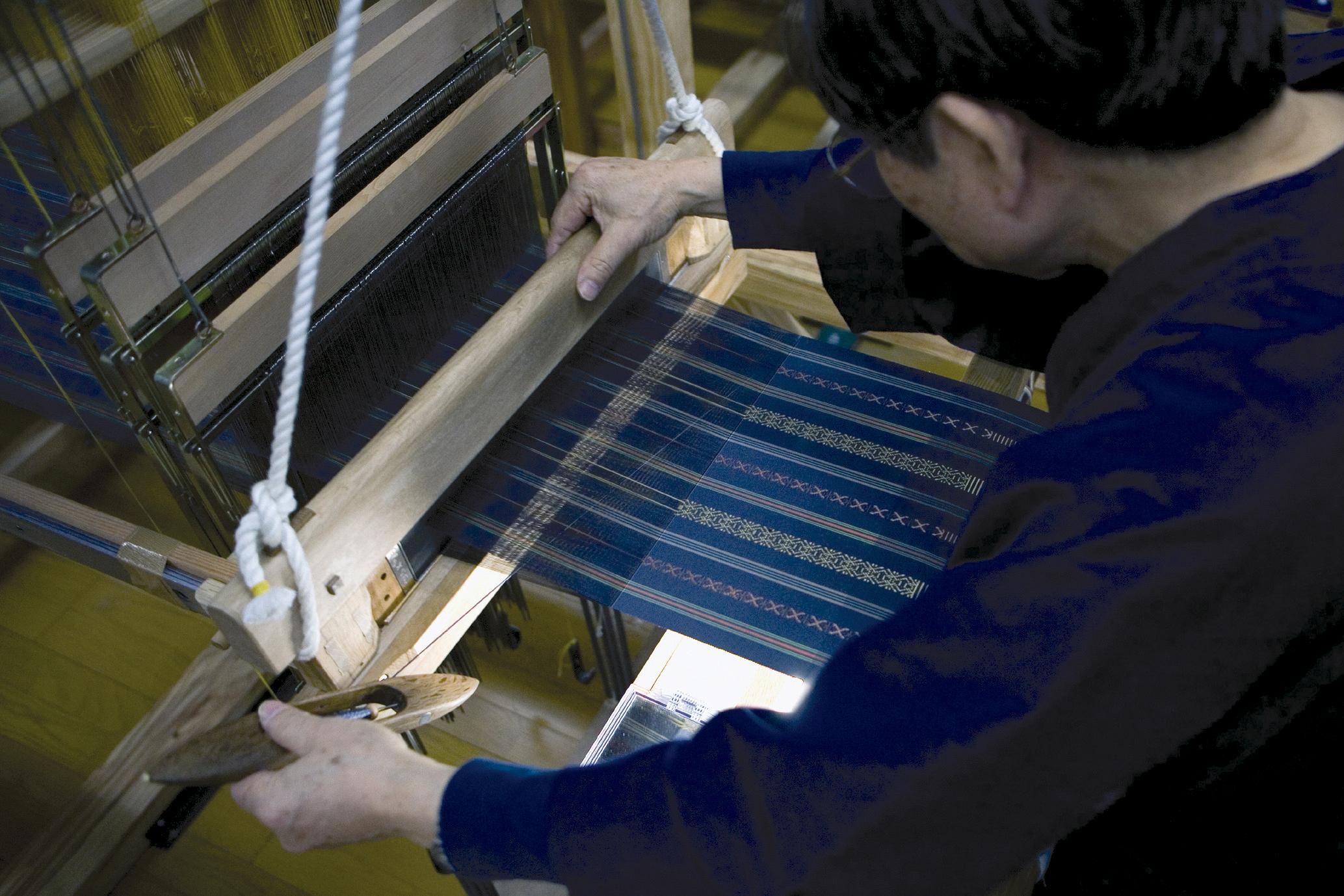 博多織・手織り(2006)の画像