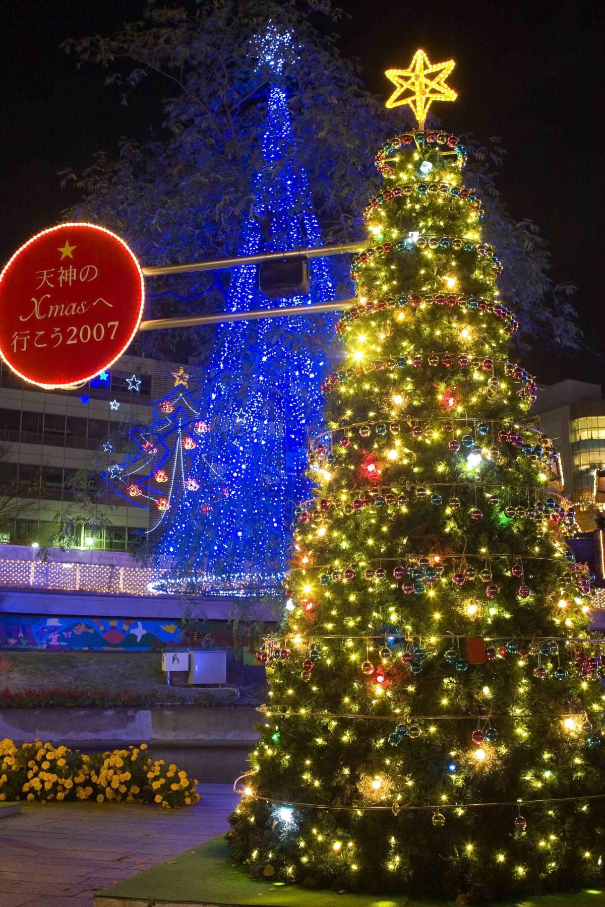 天神クリスマス(2007)の画像