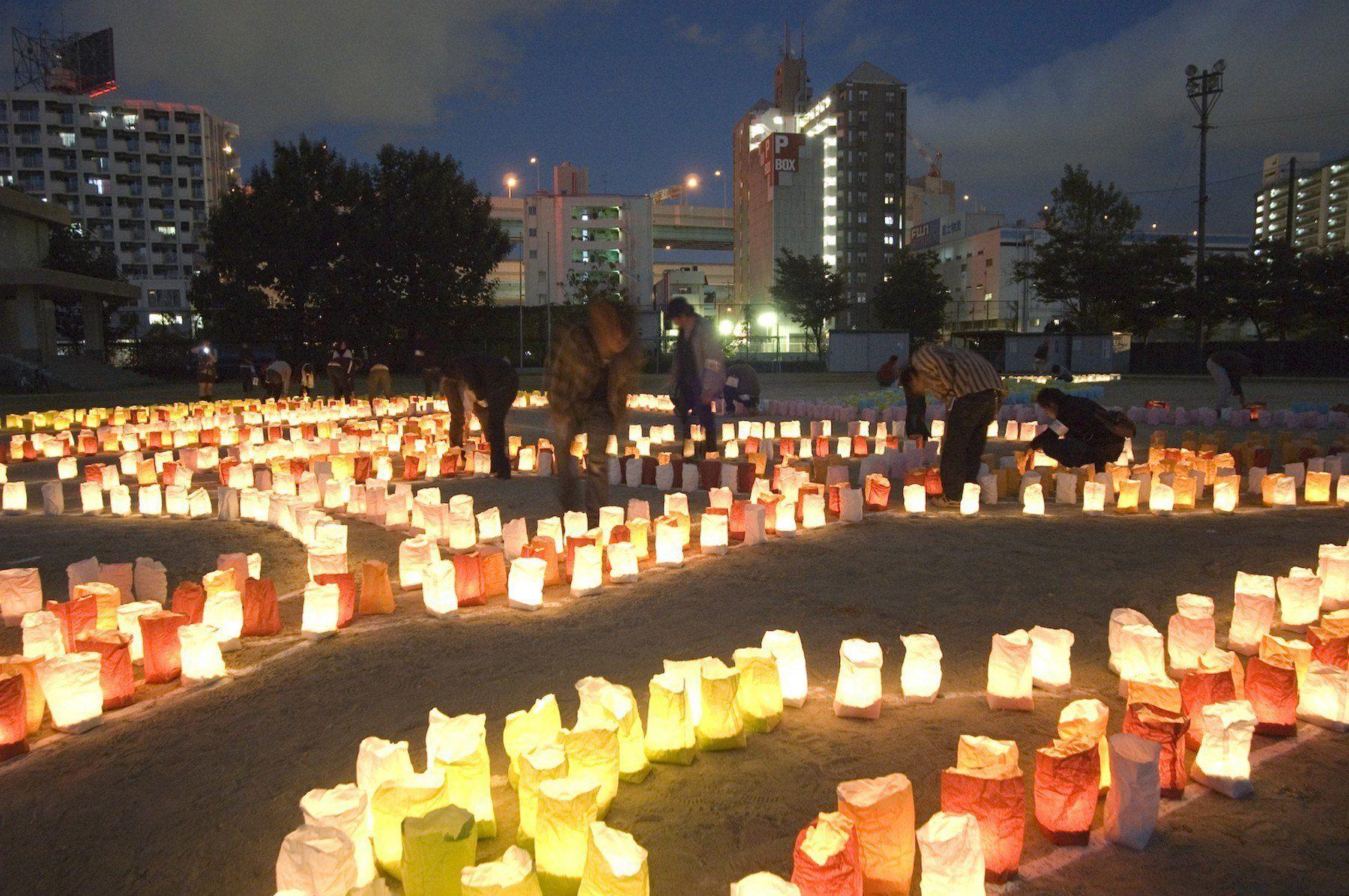 博多灯明ウオッチング(2007)の画像