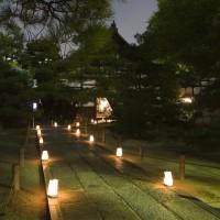 御供所のライトアップウオーク(2007)の画像