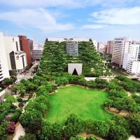 Image of Tenjin Chuo Park and ACROS Fukuoka(2009)