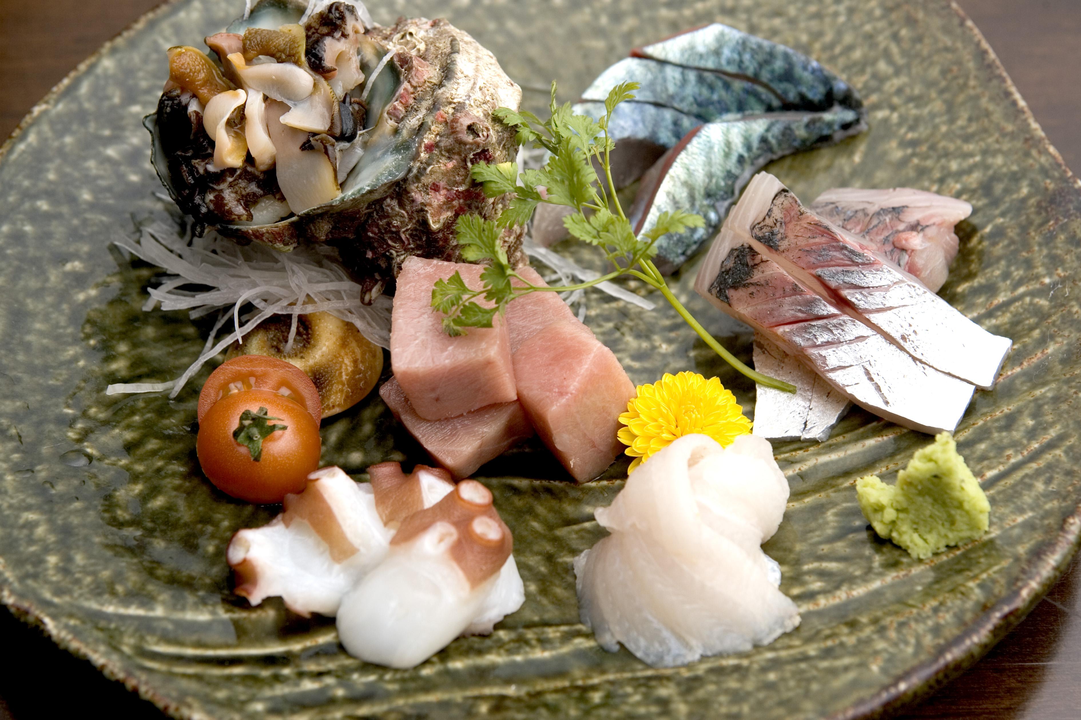 魚介類の盛り合わせ(2005)の画像