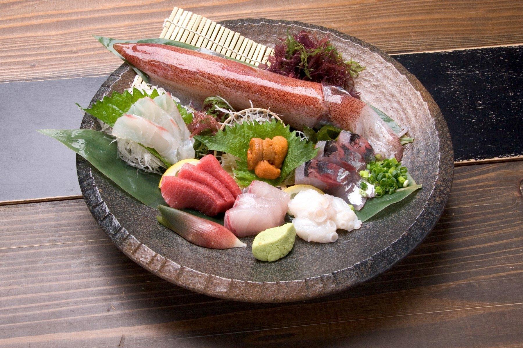 魚介類の盛り合わせ(2006)の画像