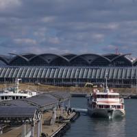 離島への定期航路は博多ふ頭から(撮影年不明)の画像