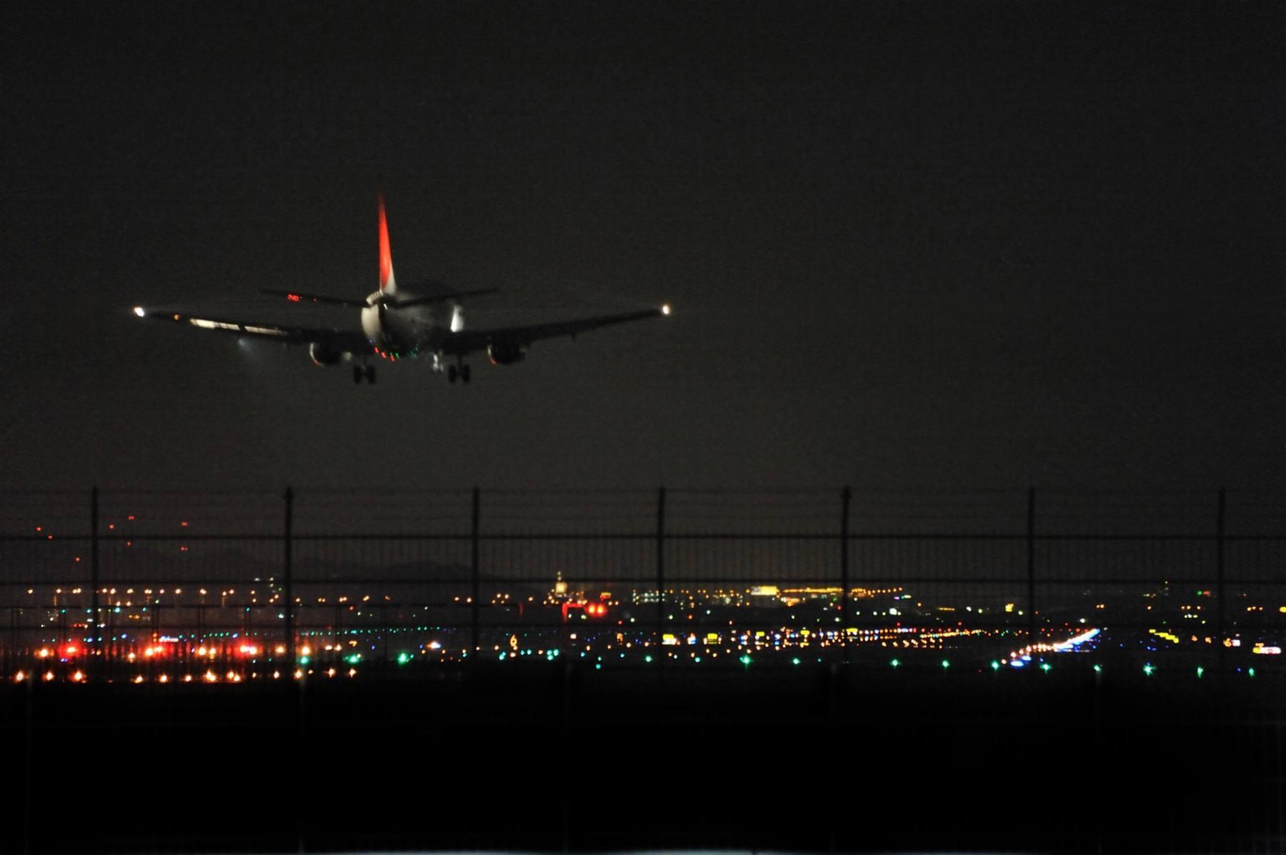 Image of Fukuoka Airport at Night(2010)