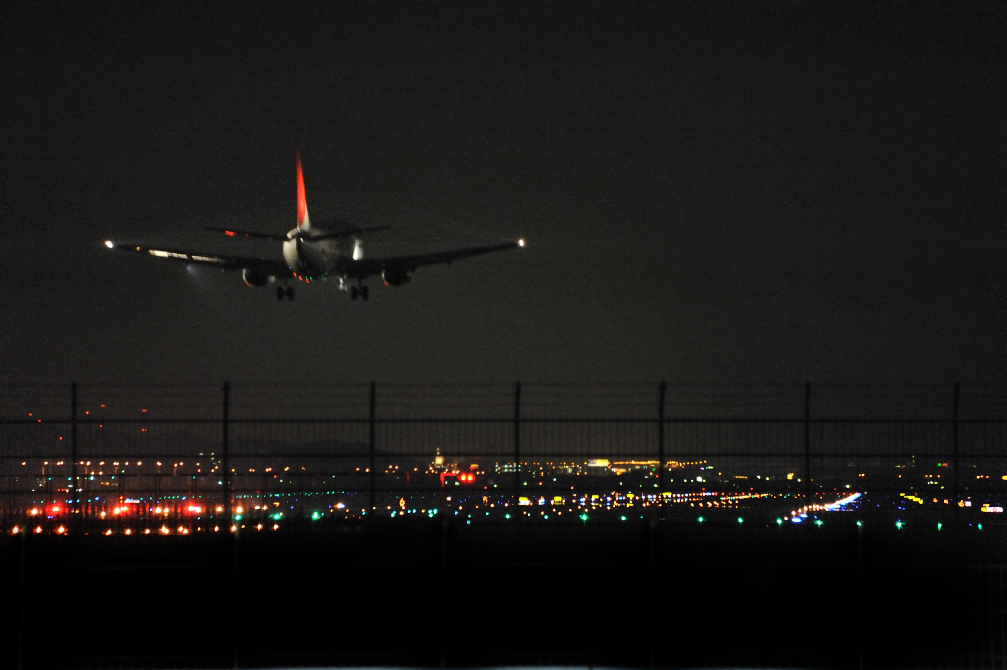 福岡空港夜景(2010)の画像