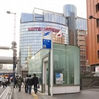エレベーターも併設される地下鉄駅(2008)の画像