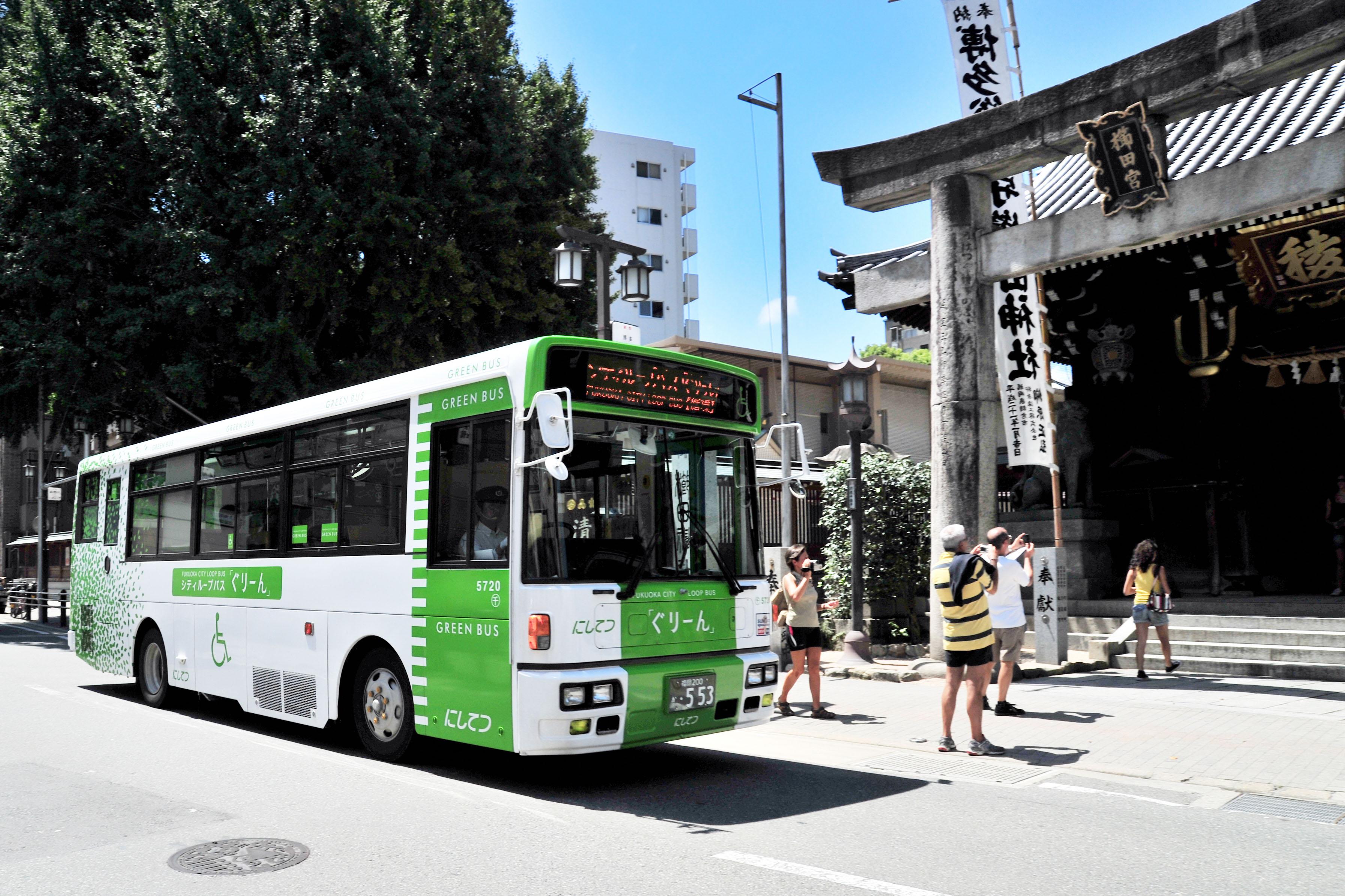 ループバスぐりーん・観光スポットを周遊(2009)の画像