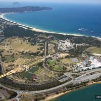 海の中道海浜公園上空(2009)の画像
