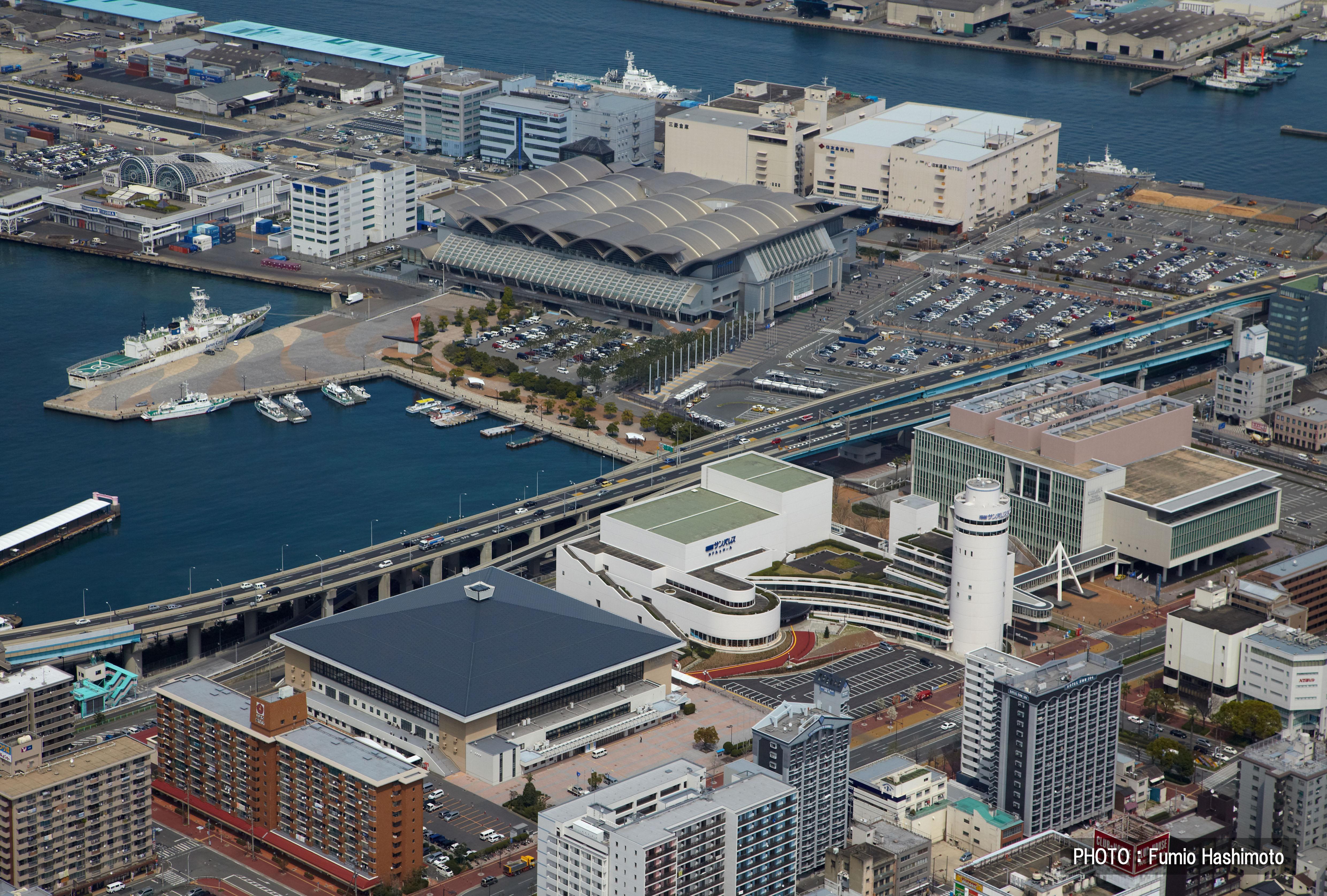 博多港・コンベンション施設ゾーン(2009)の画像