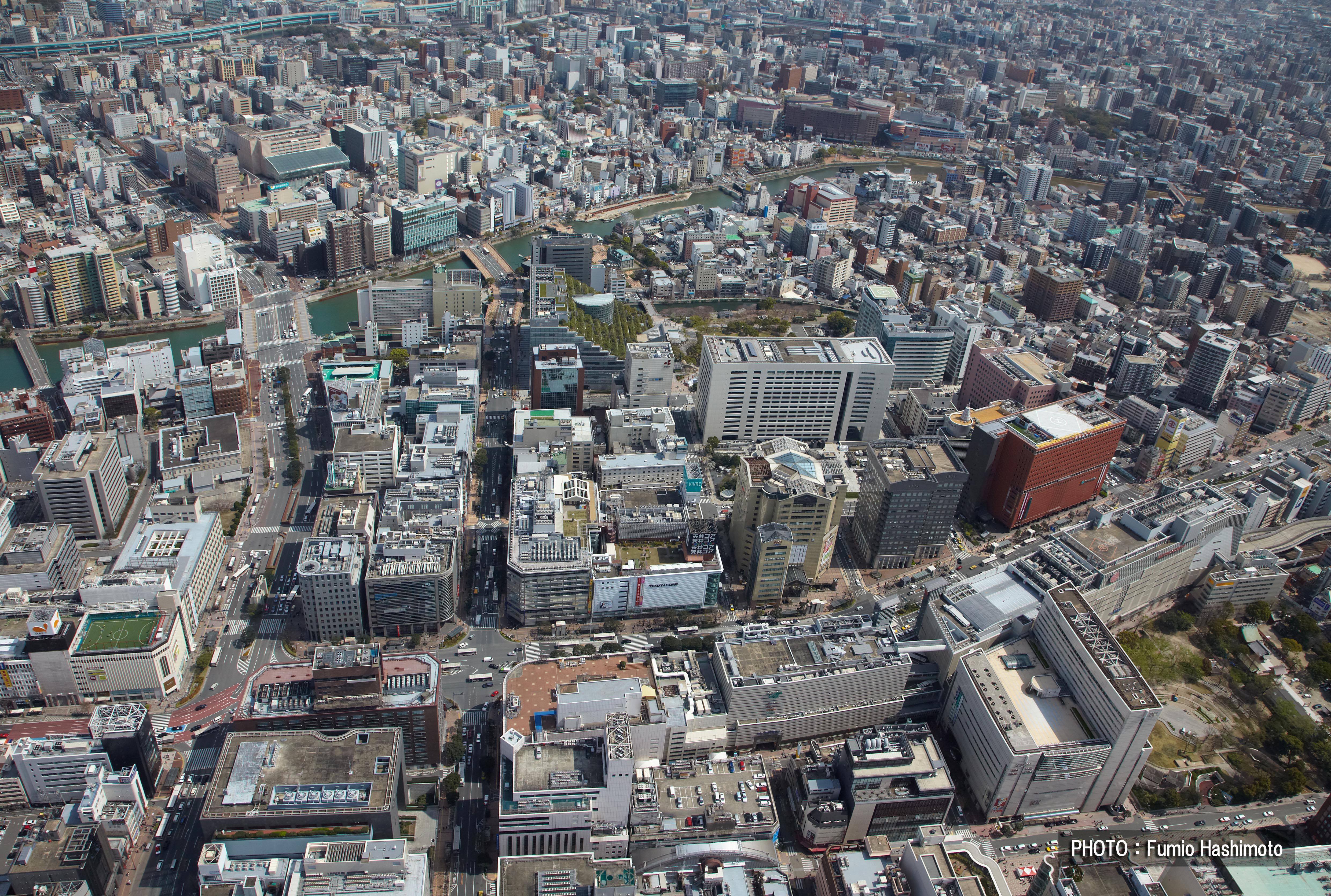 天神地区(2009)の画像