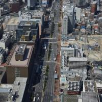 天神・渡辺通り(2009)の画像