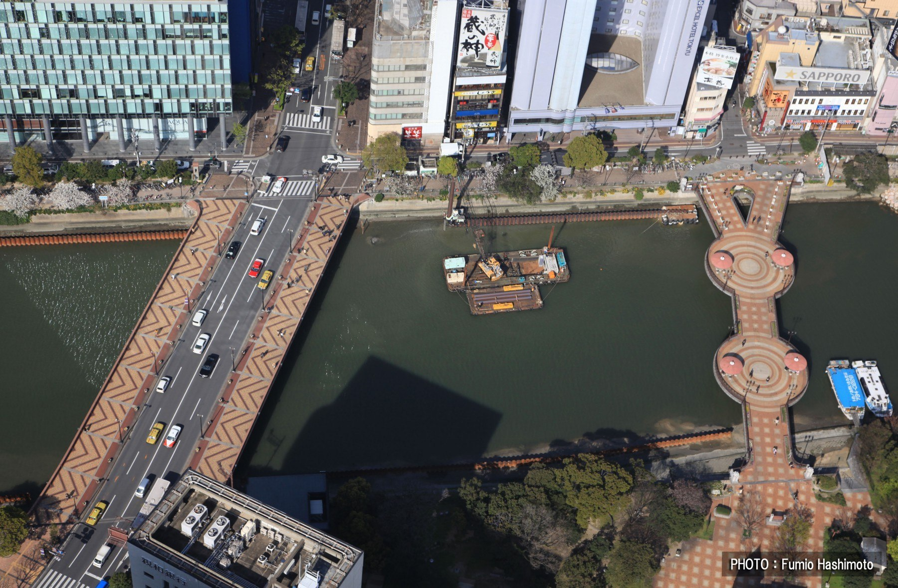 西大橋・福博であい橋(2009)の画像