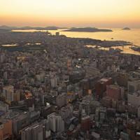 天神から西方面を望む(2009)の画像