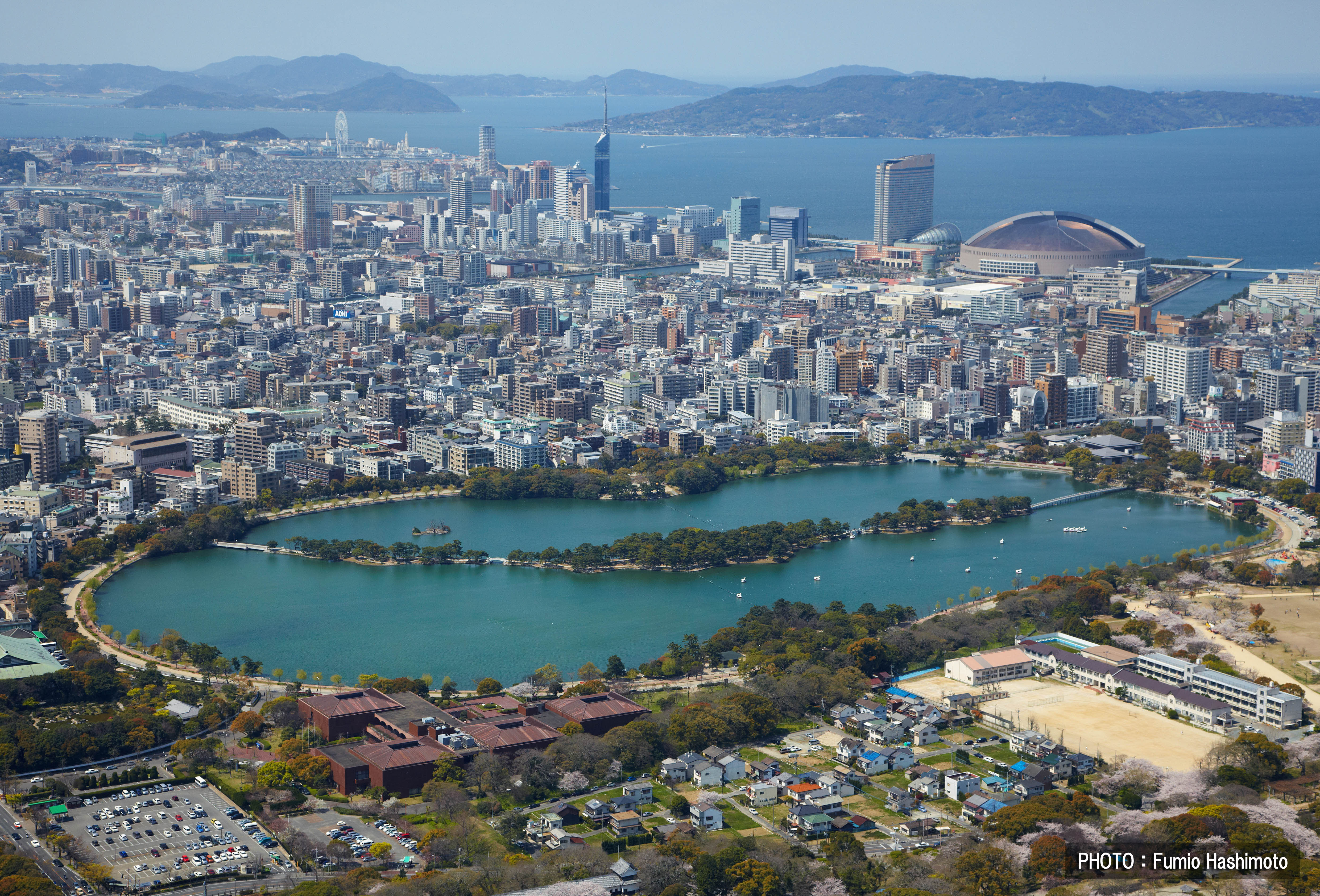 Fukuoka Japan  City new picture : まるごと福岡博多|大濠公園 2009