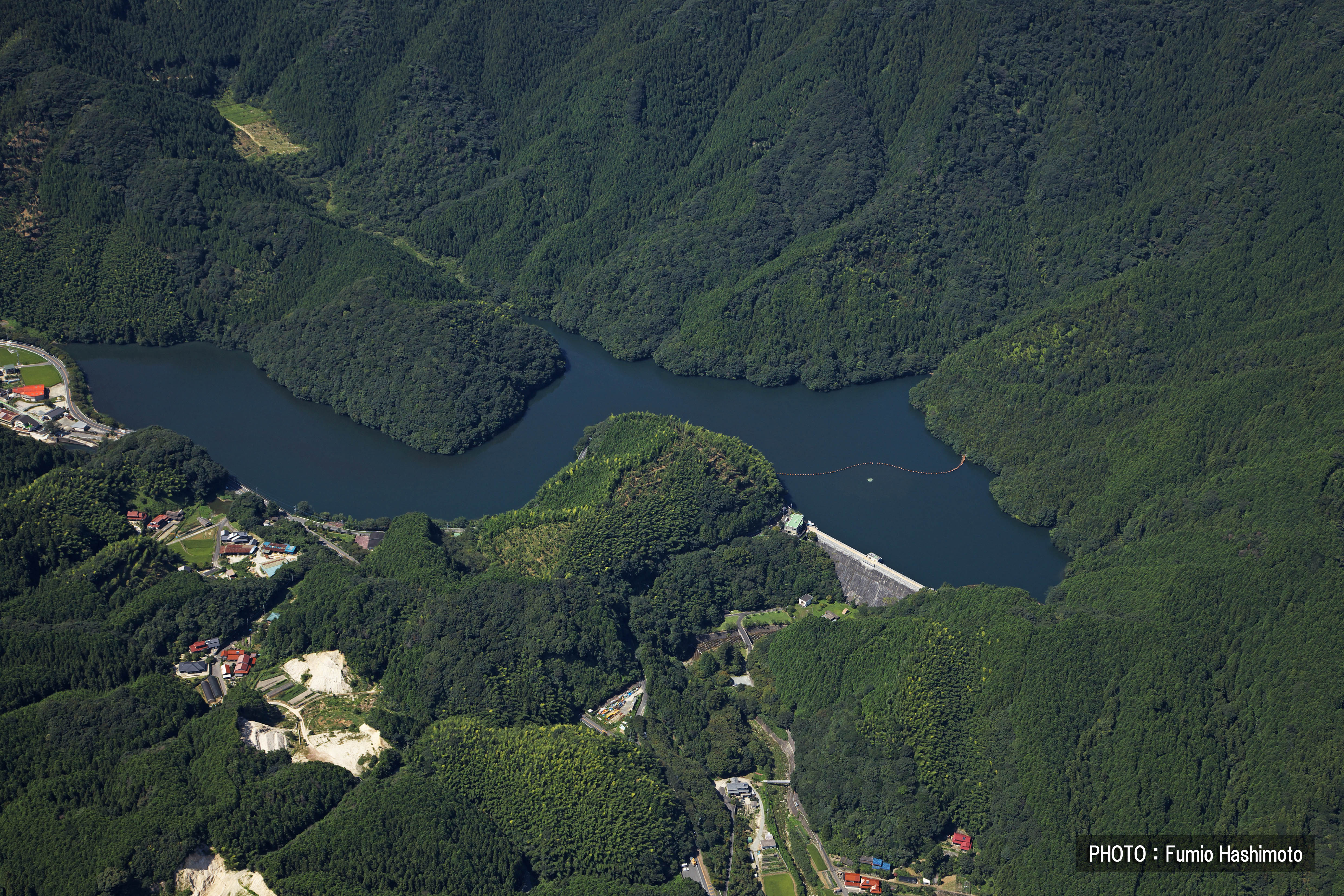 曲渕ダム(2009)の画像