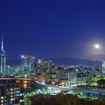 Image of 愛宕山から見た百道の夜景(2012)