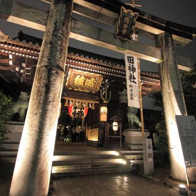 博多ライトアップウォーク・櫛田神社(2011)の画像