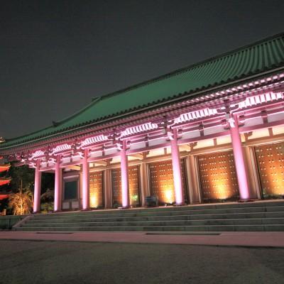 博多ライトアップウォーク・東長寺(2011)の画像