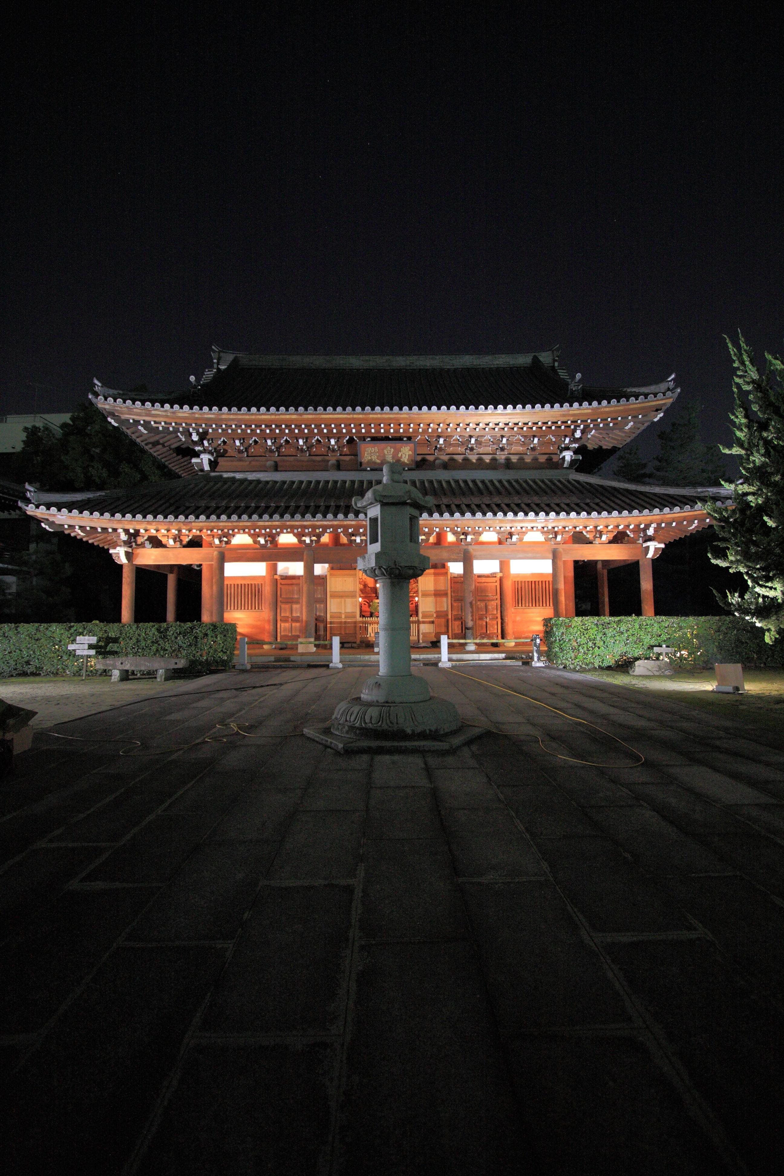 博多ライトアップウォーク・承天寺(2011)の画像