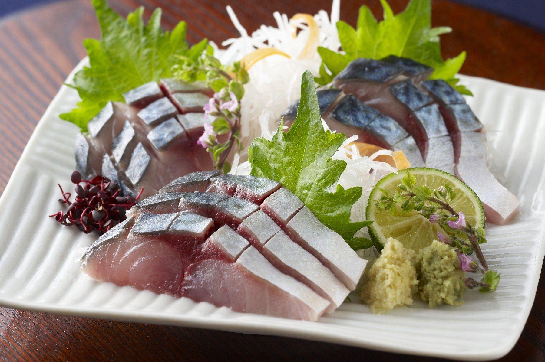 鯖の刺身(2011)の画像