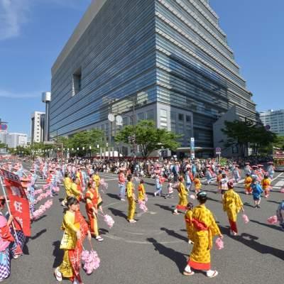 하카타 돈타쿠 미나토마쓰리(2014)의 이미지