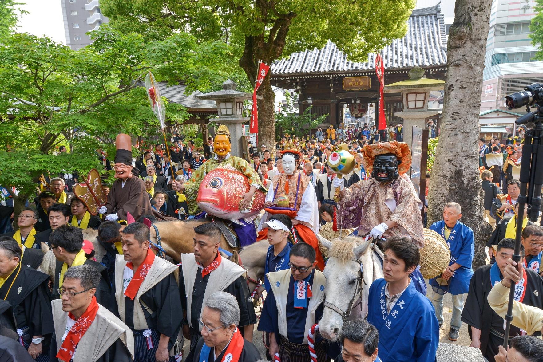 博多松囃子・櫛田神社(2014)の画像